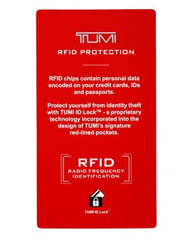 TUMI ID Lock™ Gusseted Card Case Monaco