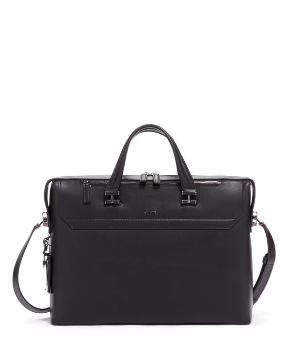 Ashton Gates Slim Leather Brief