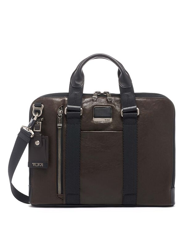Alpha Bravo Aviano Slim Brief Leather