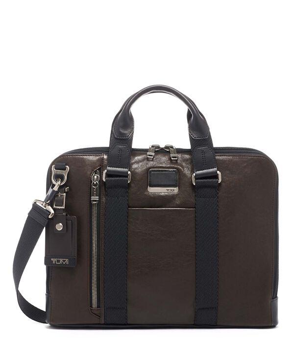 Alpha Bravo Aviano Slim Brief Leather