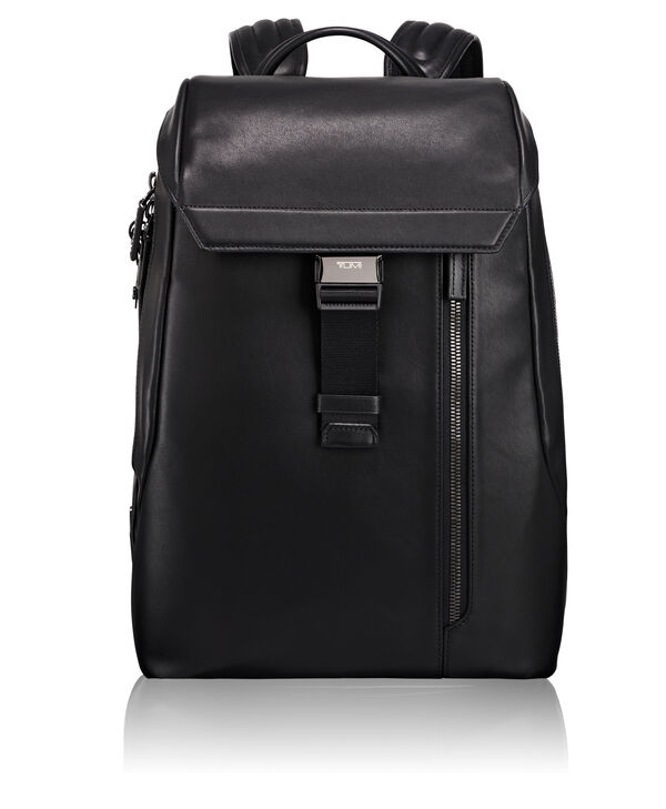 Ashton Dresden Flap Leather Backpack