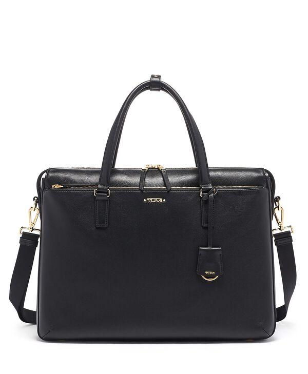 Voyageur Chandler Business Brief Leather